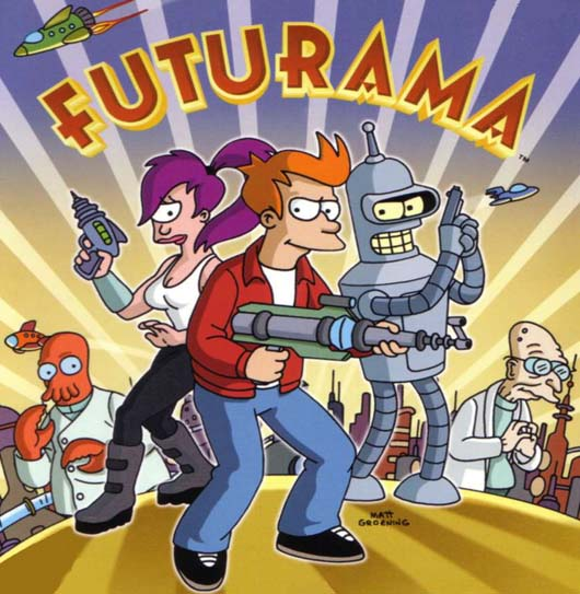 Mira Futurama online audio latino
