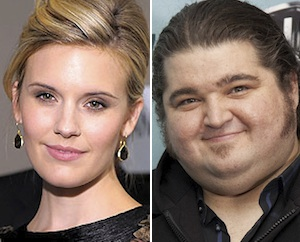 Maggie Grace y Jorge García de Perdidos a Californication