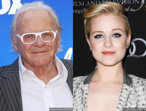 Anthony Hopkins y Evan Rachel Wood protagonizarán el remake televisivo de Westworld en HBO